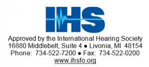 ihs logo and approval text